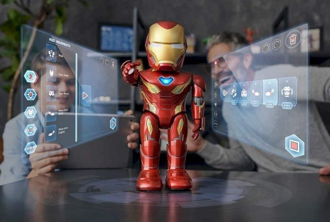Iron Man Mk 50 Robot By Ubtech 4