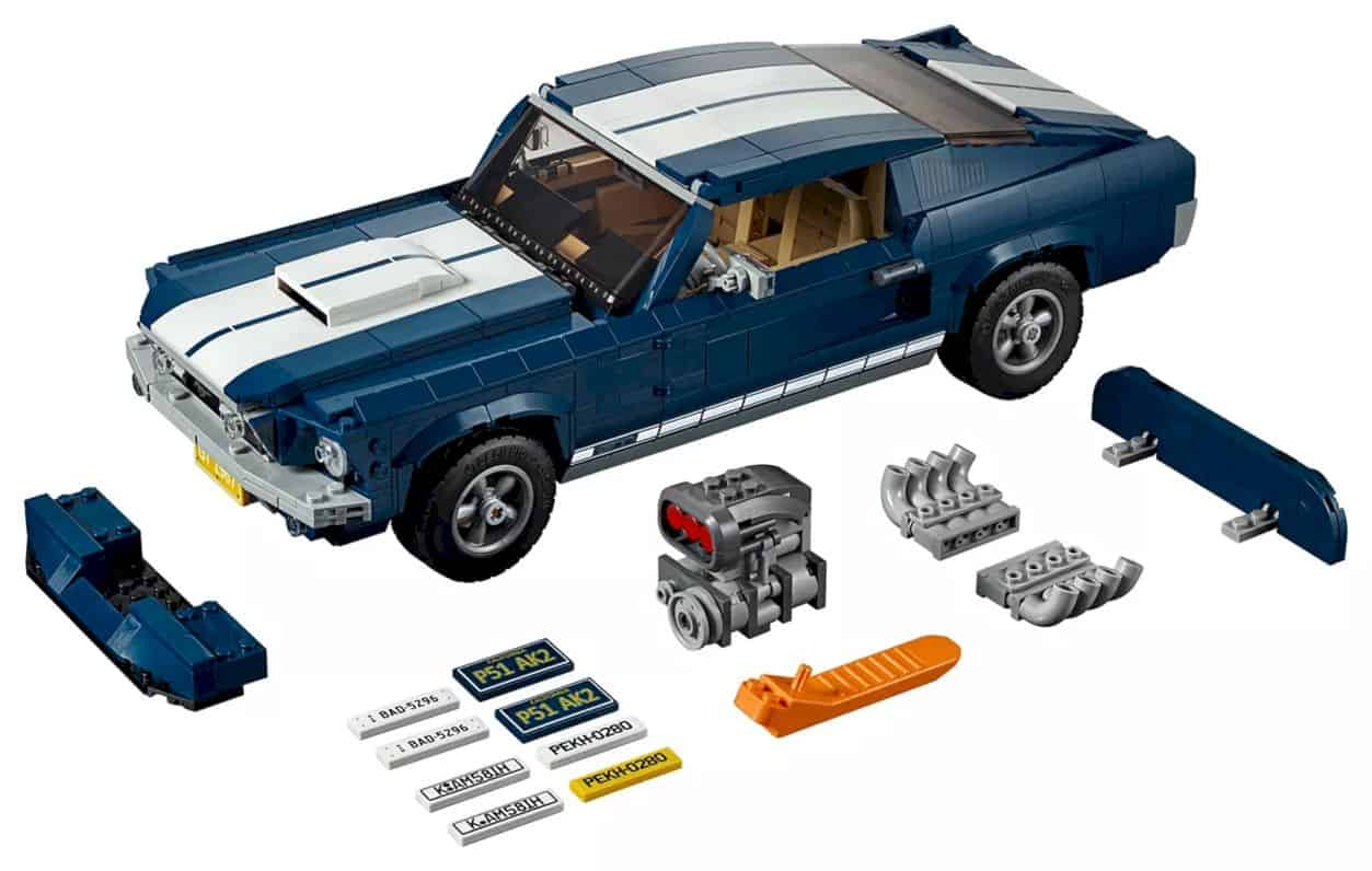 Lego Creator Ford Mustang 1