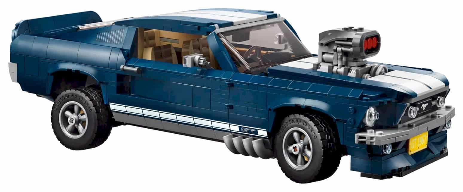 Lego Creator Ford Mustang 11