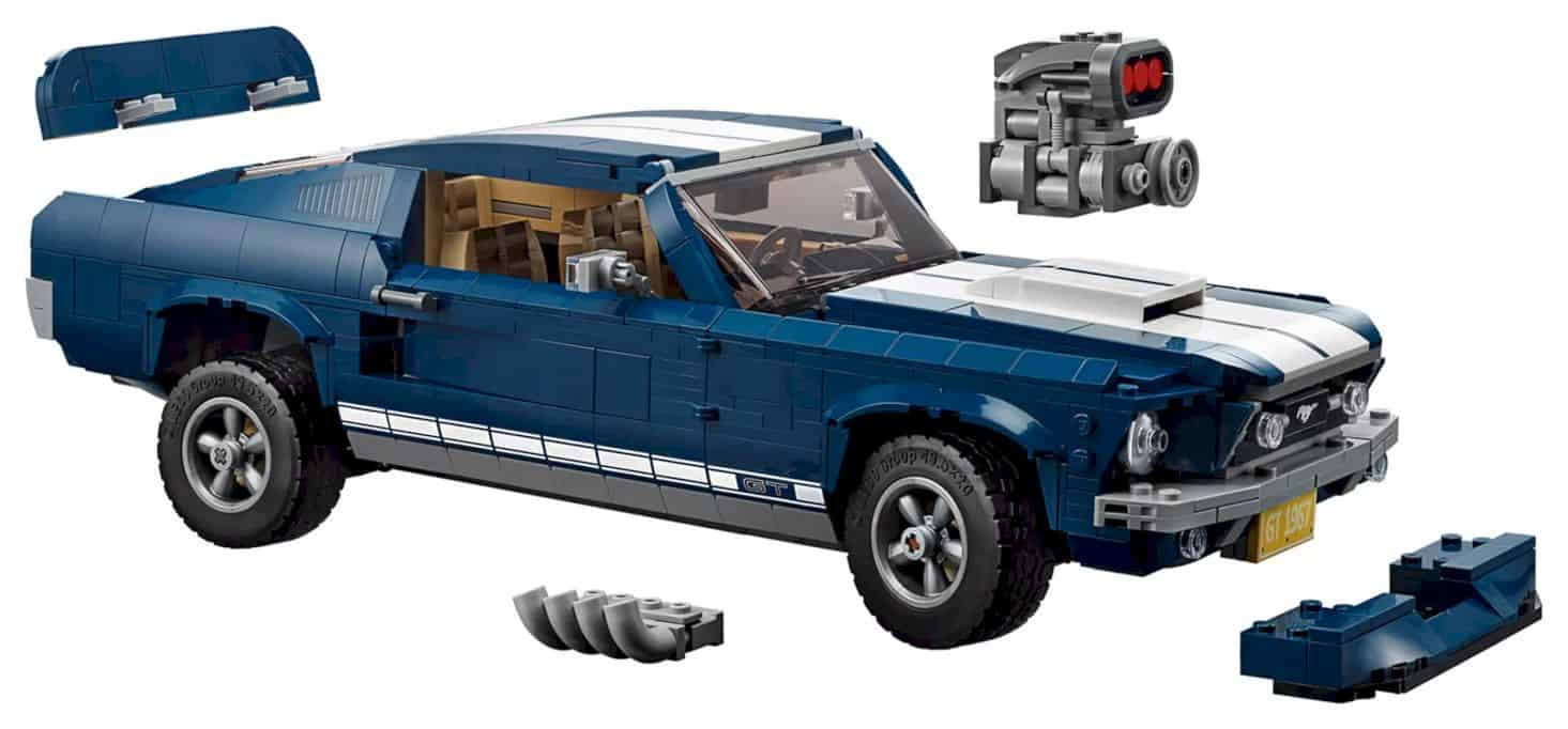 Lego Creator Ford Mustang 12