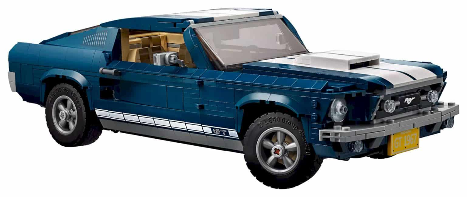Lego Creator Ford Mustang 13