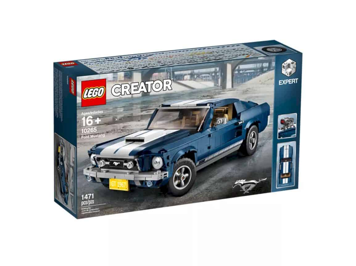 Lego Creator Ford Mustang 14