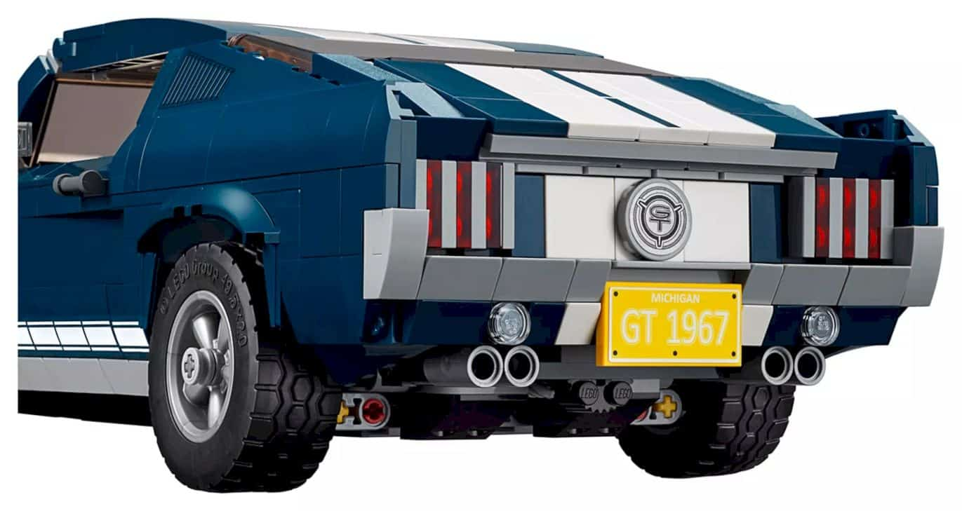 Lego Creator Ford Mustang 8