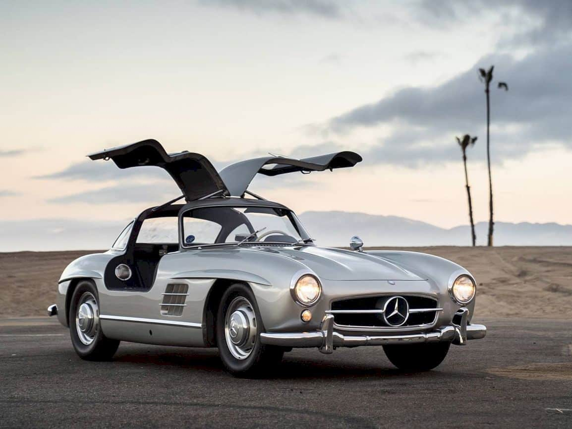 1955 Mercedes-Benz 300 SL Gullwing: Pure Mechanical Genius