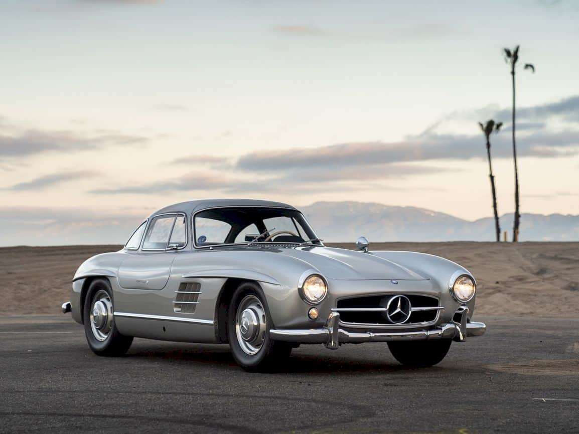 1955 Mercedes Benz 300 Sl Gullwing 7