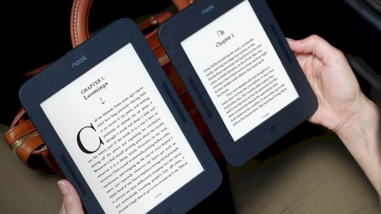 Barnes & Noble Nook Glowlight Plus 3