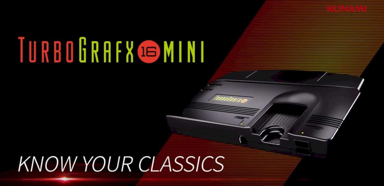 Konami Turbografx 16 Mini 1