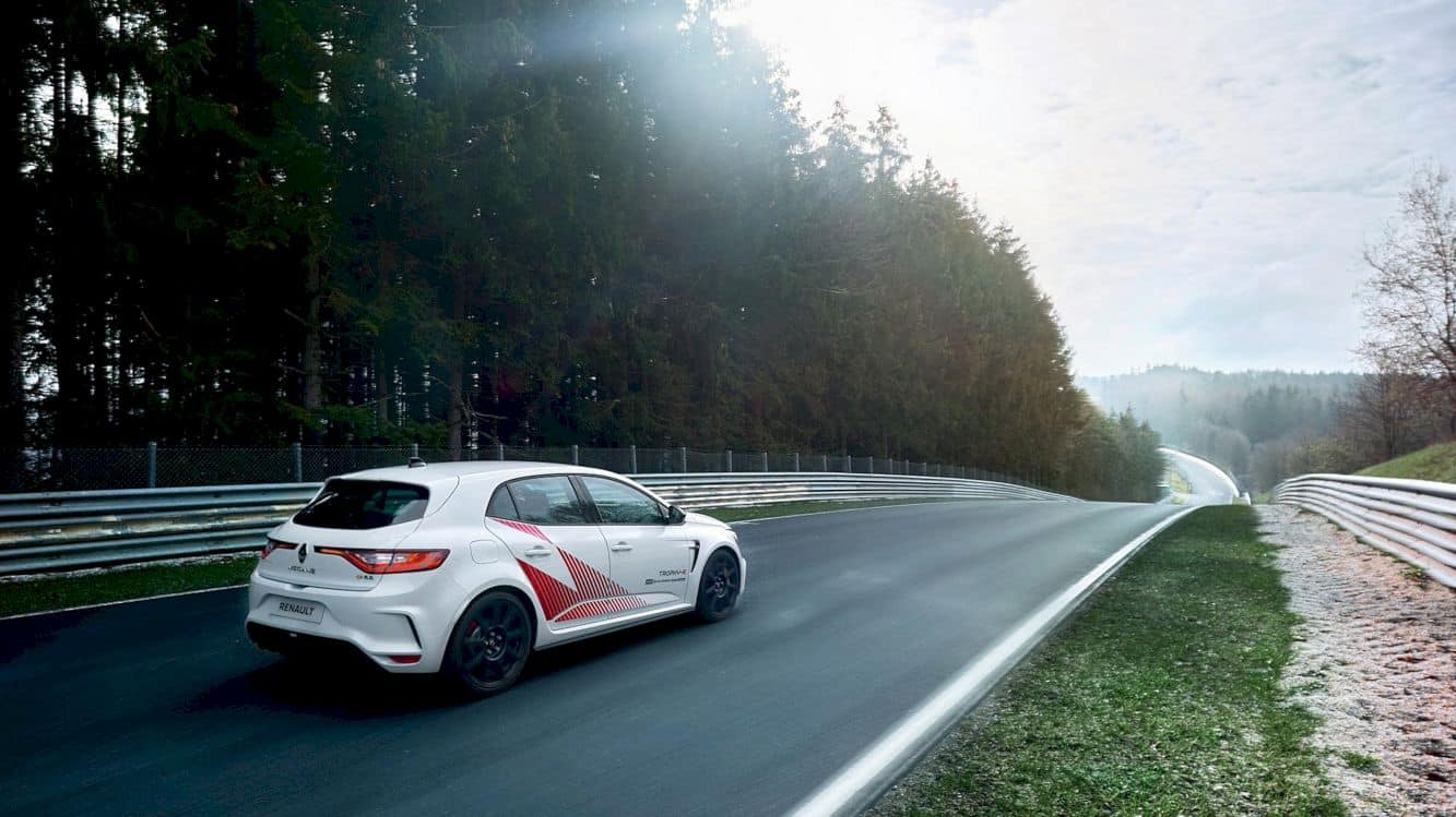 Renault Mégane R.S. Trophy-R: A Record-Breaking Star