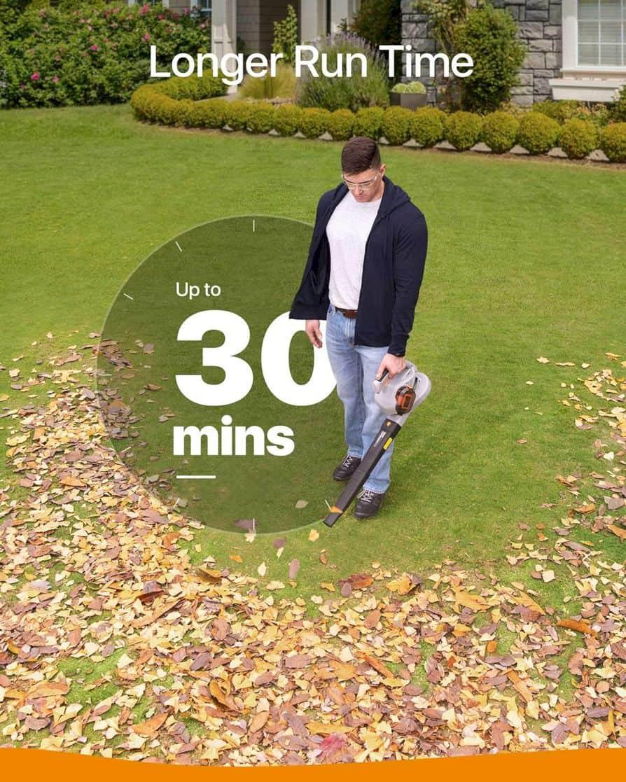 Anker Roav Cordless Leaf Blower 4