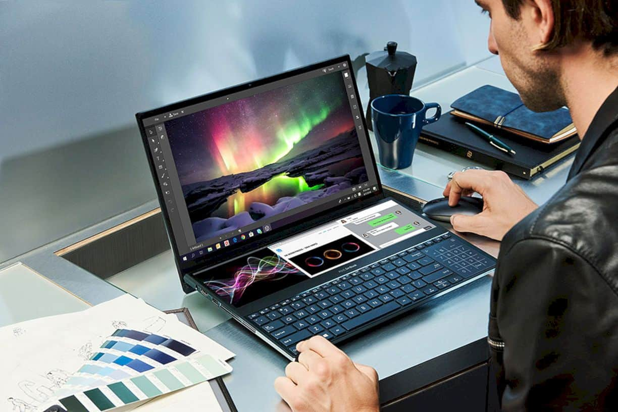 Asus ZenBook Pro Duo: Thinking outside the bezel