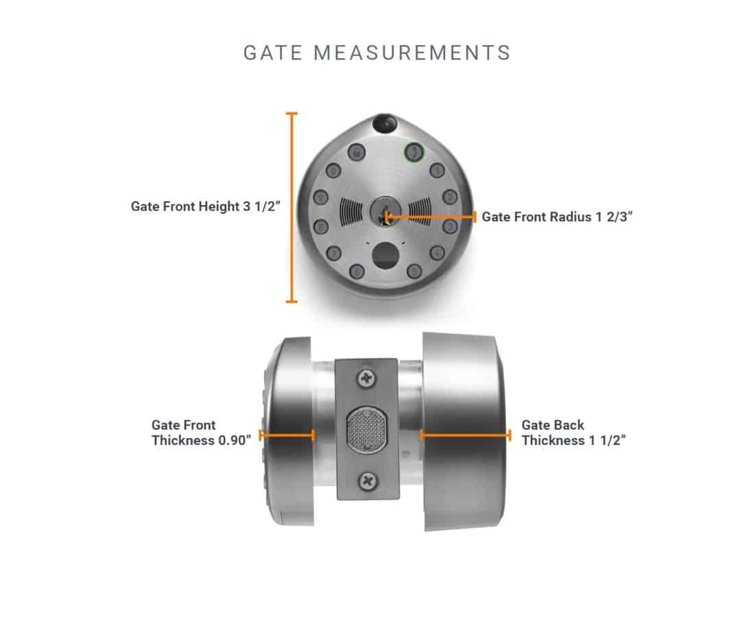 Gate Smart Lock 3
