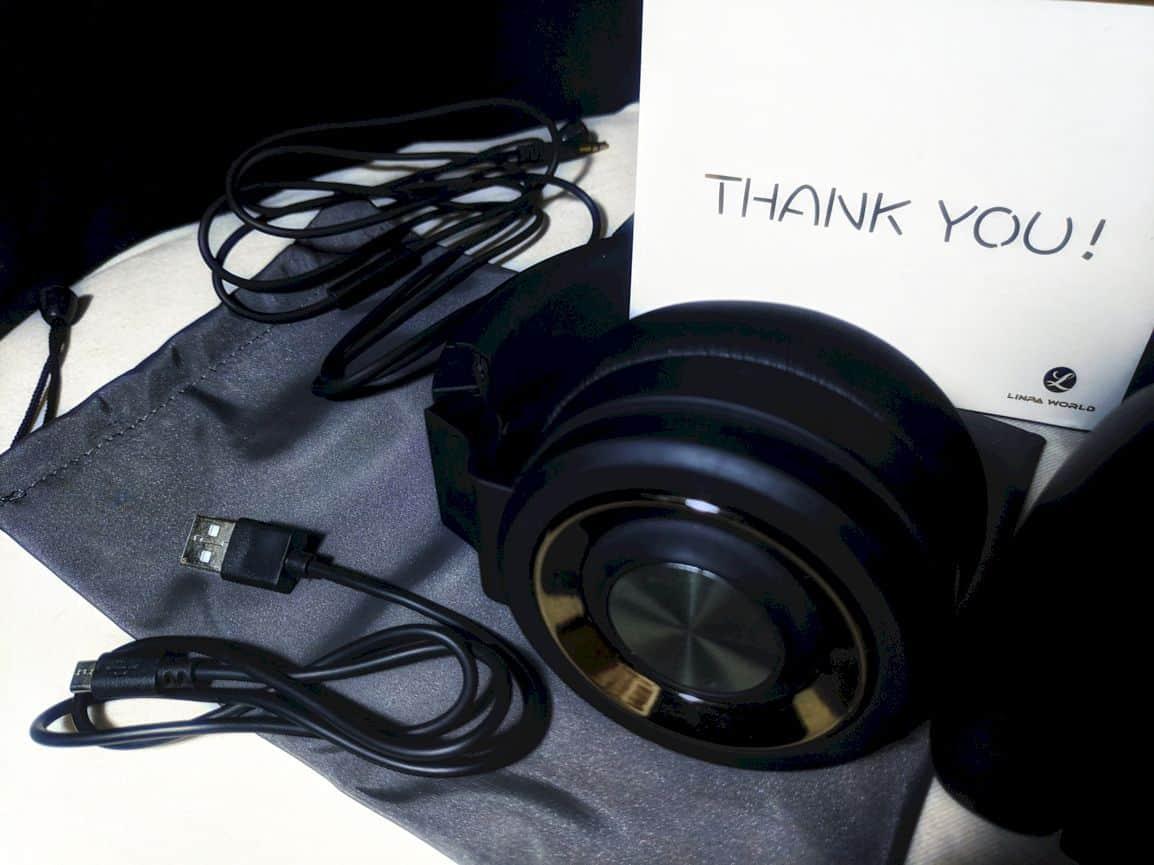 Linpa World M1 On Ear Bluetooth Headset 2