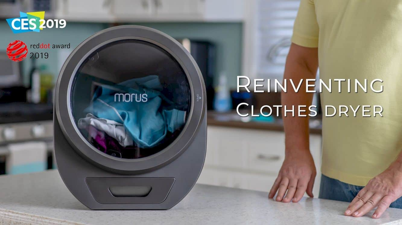 Morus Zero: Ultra-fast countertop tumble dryer for any home