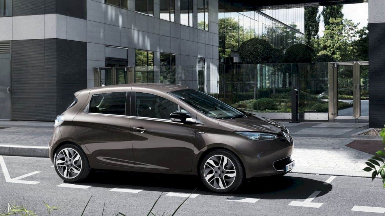 Renault ZOE: Effortless clean styling throughout