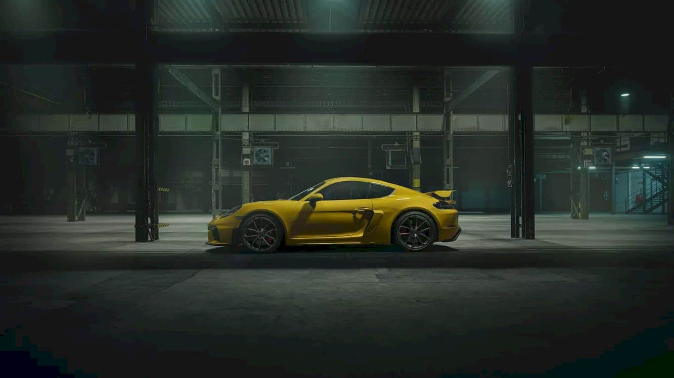 The New 718 Cayman Gt4 12