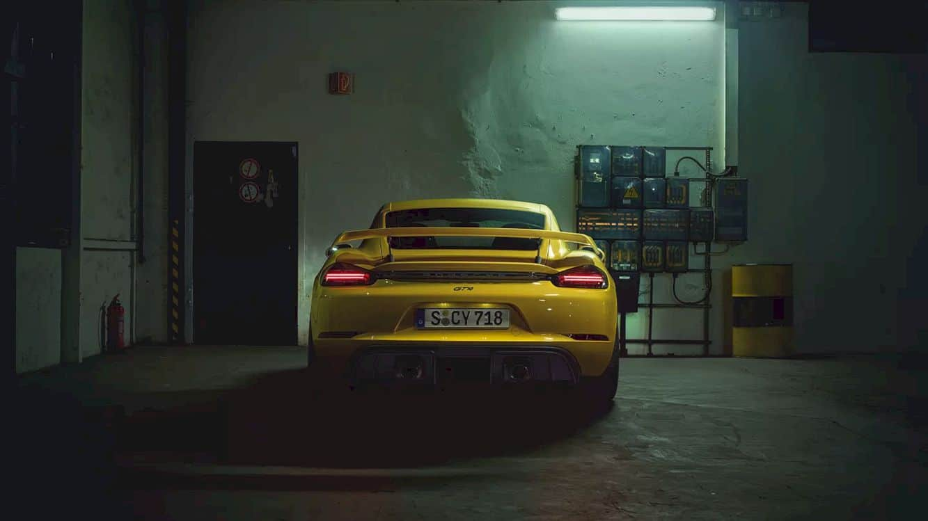 The New 718 Cayman Gt4 13