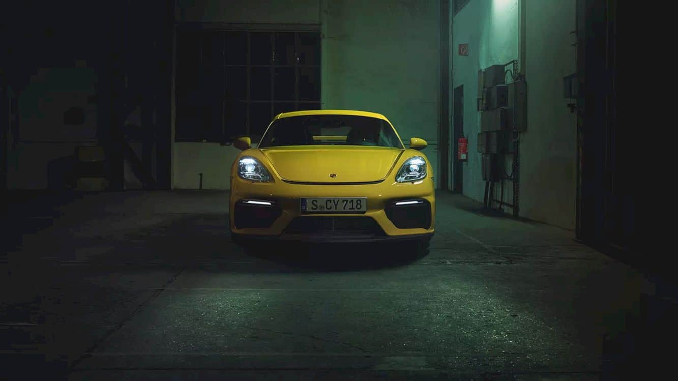 The New 718 Cayman Gt4 24
