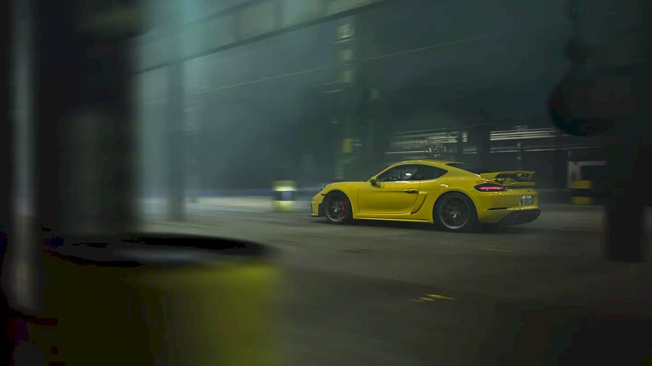 The New 718 Cayman Gt4 25