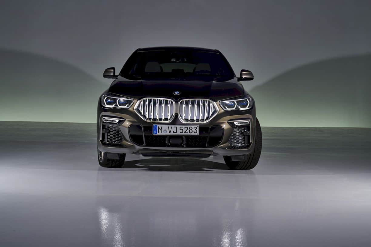 The New Bmw X6 12