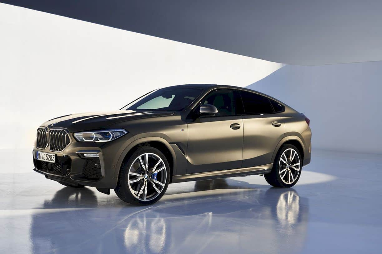 The New Bmw X6 8