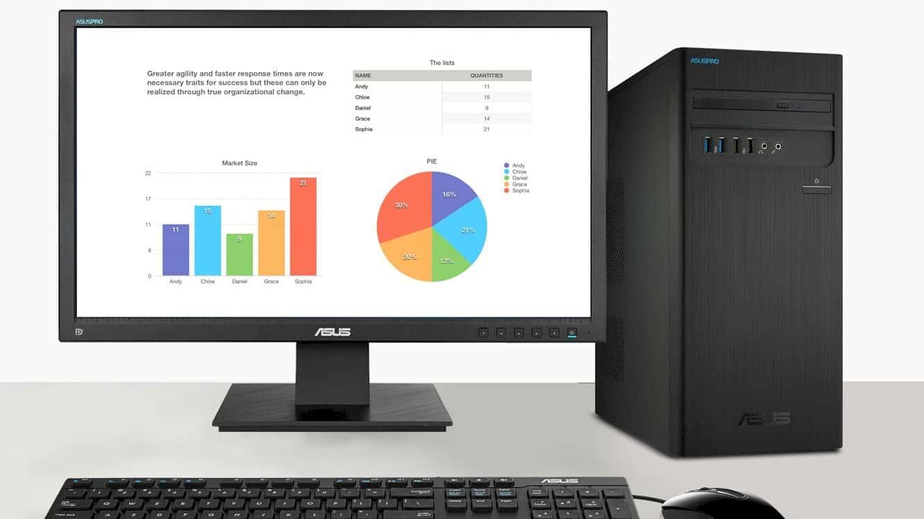 Asuspro Business Desktops 9