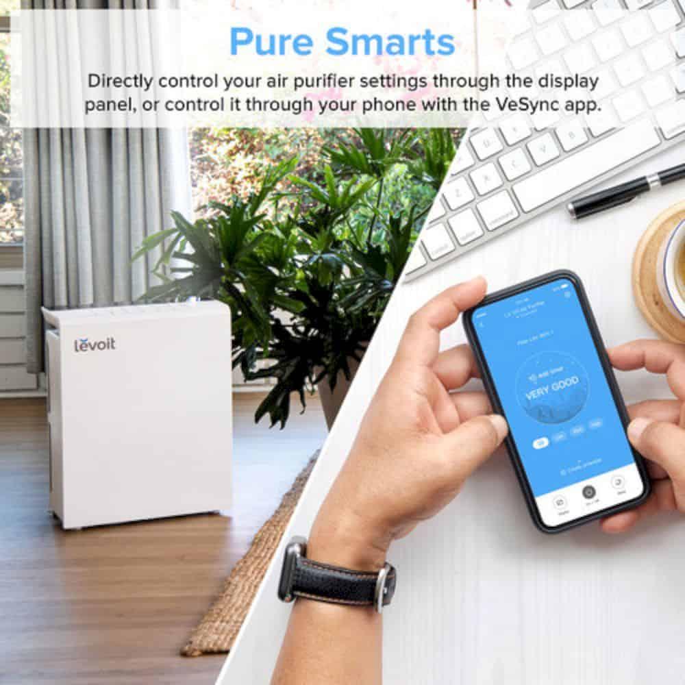 Levoit Smart True Hepa Air Purifier 3