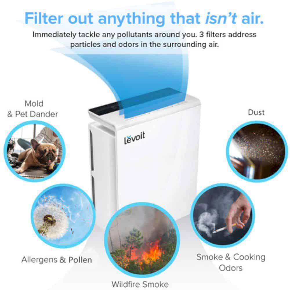 Levoit Smart True Hepa Air Purifier 5