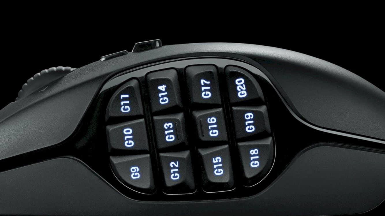 Logitech G600 Mmo Gaming Mouse 10
