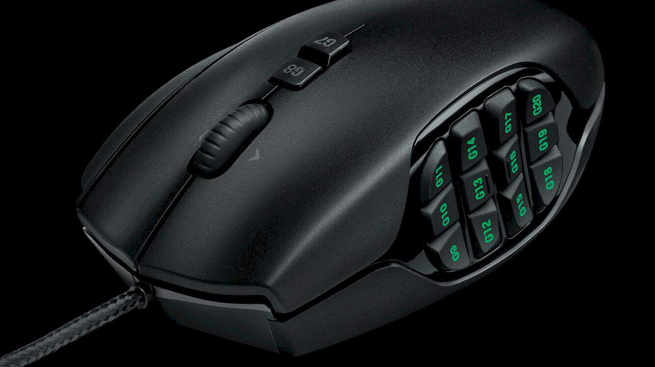 Logitech G600 Mmo Gaming Mouse 6