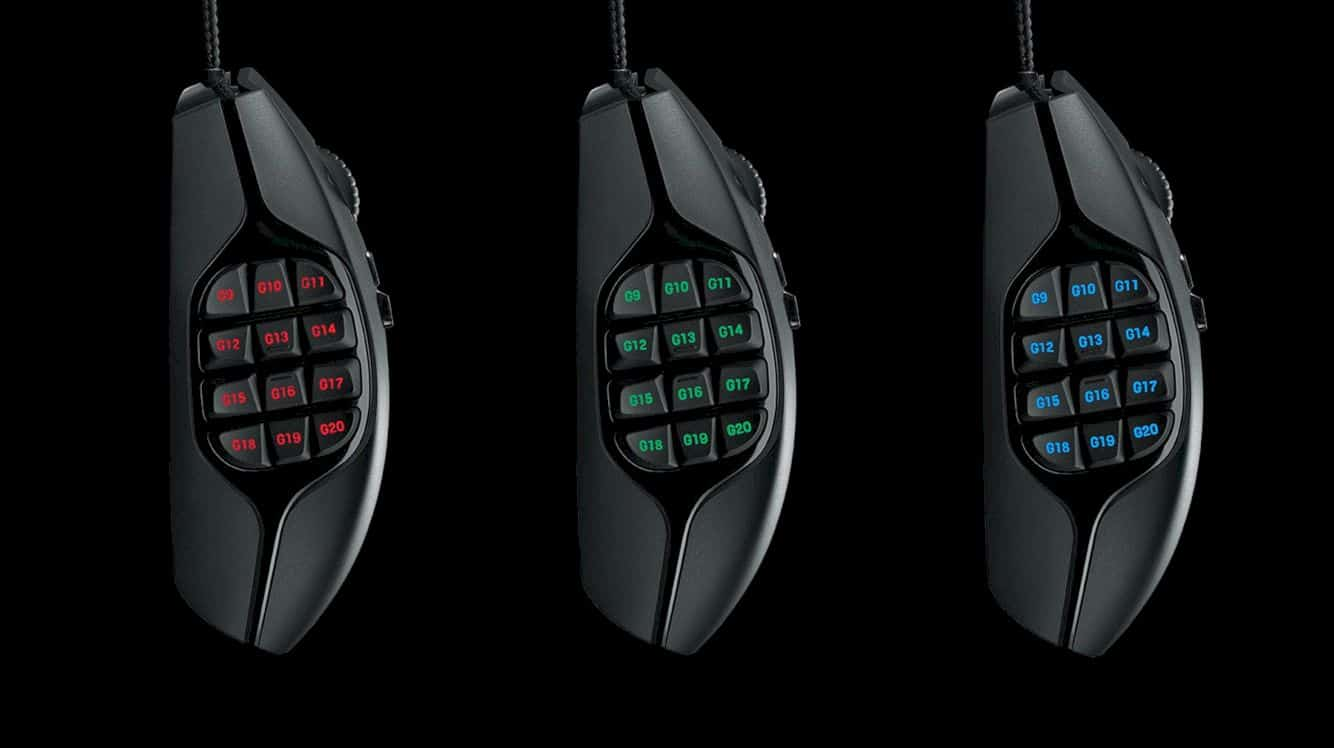 Logitech G600 Mmo Gaming Mouse 7