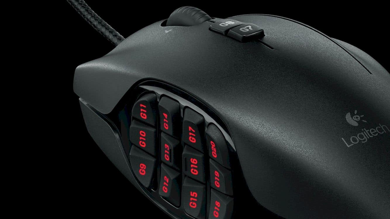Logitech G600 Mmo Gaming Mouse 9