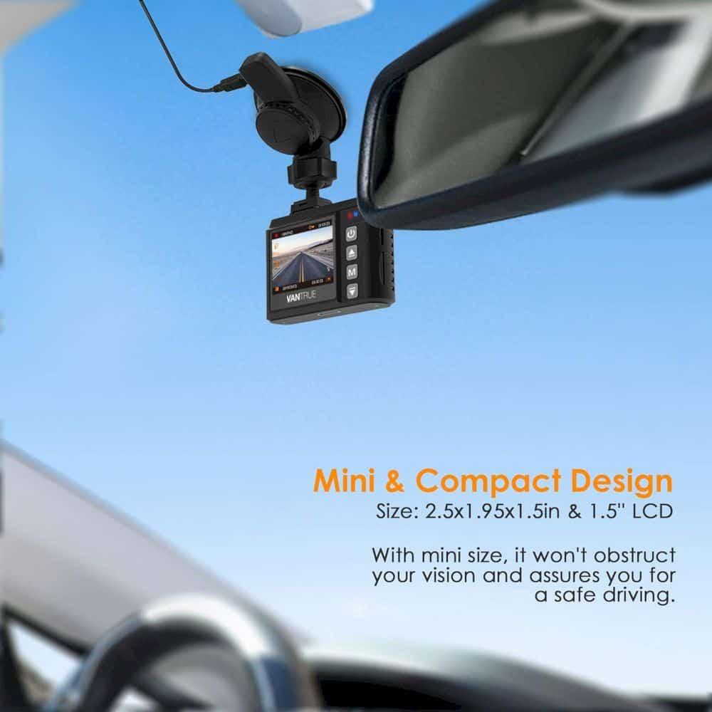 Vantrue N1 Pro Mini Dash Cam 2