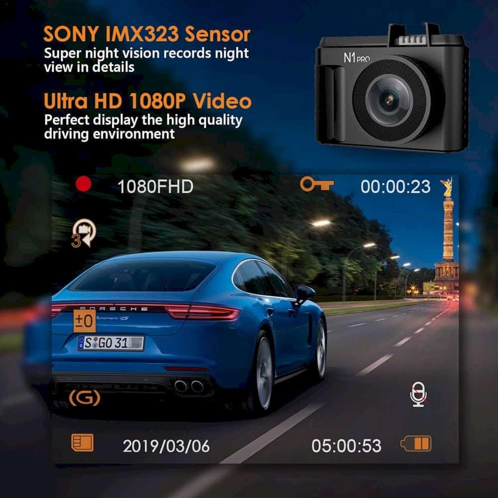 Vantrue N1 Pro Mini Dash Cam 4