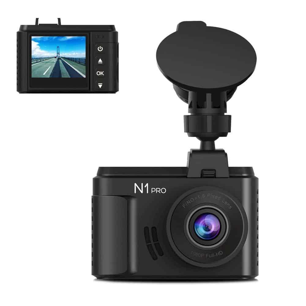 Vantrue N1 Pro Mini Dash Cam 7