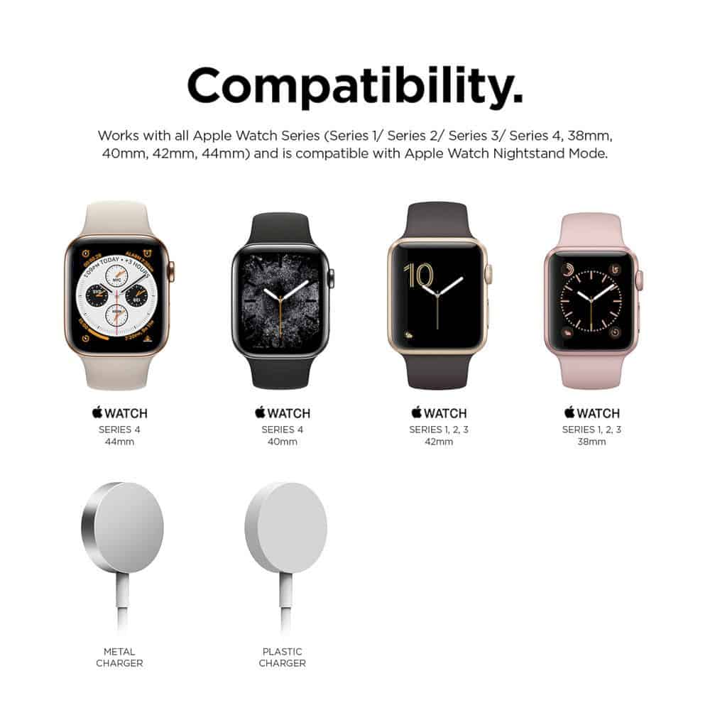 W6 Stand For Apple Watch 3