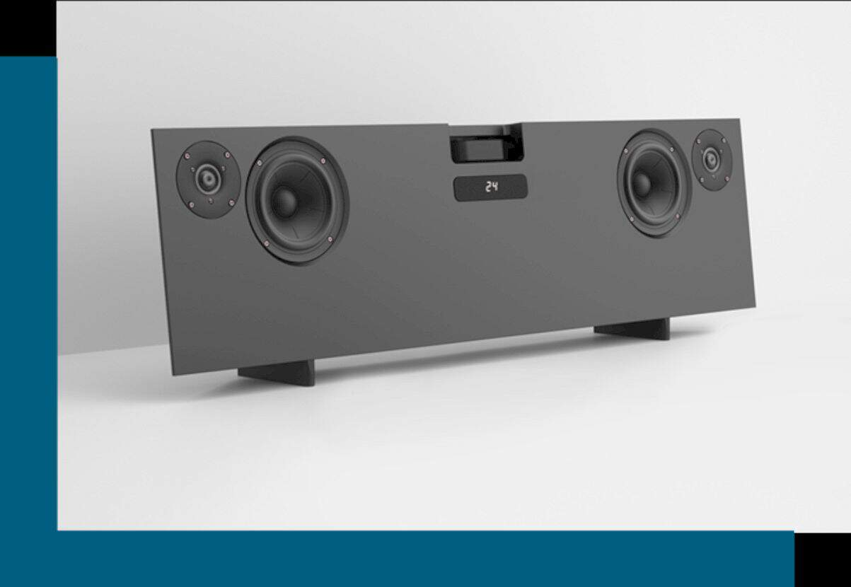 Canvas Audio: The World's First HiFi Audiostand for OLED TV