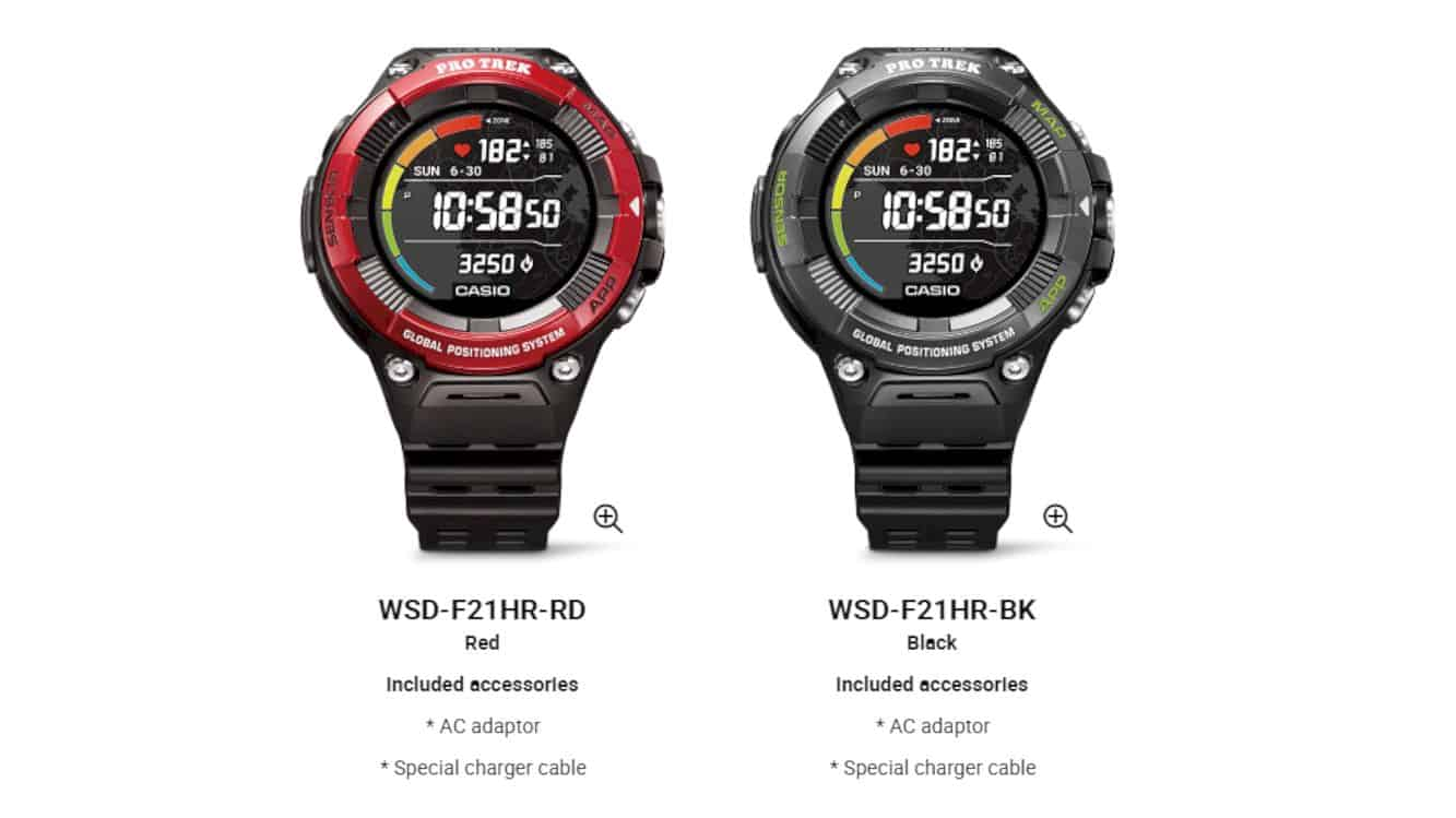 Casio Pro Trek Smart Wsd F21hr 1