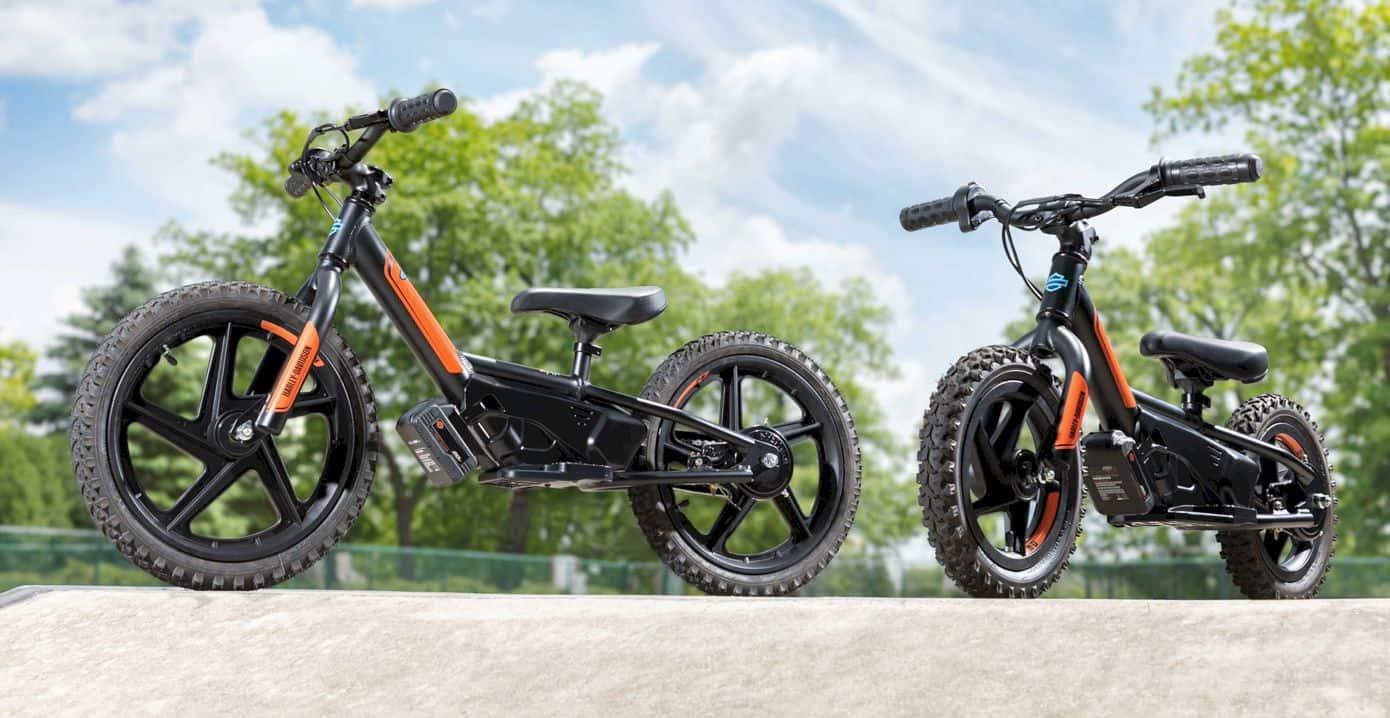 Harley Davidson Electric Balance Bikes 1