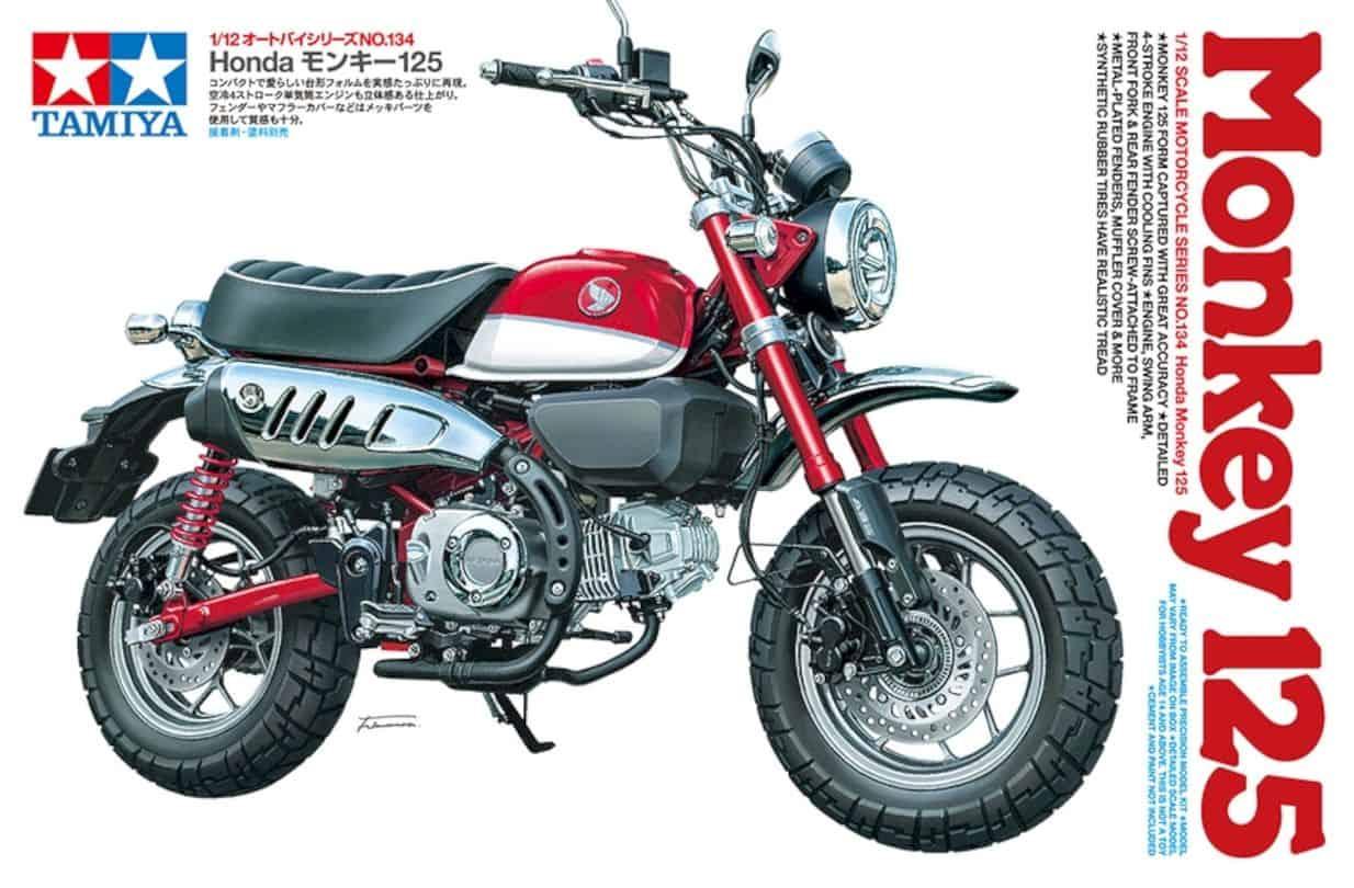 Tamiya Honda Monkey 125 Model 1