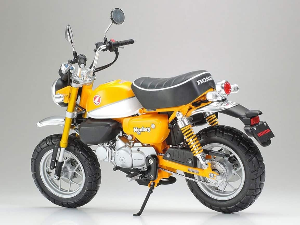 Tamiya Honda Monkey 125 Model 4