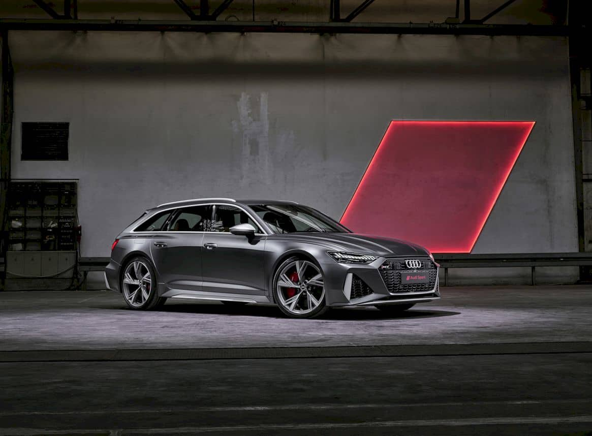 All-New Audi RS 6 Avant:  Visceral Design and Exhilarating Driving Dynamics