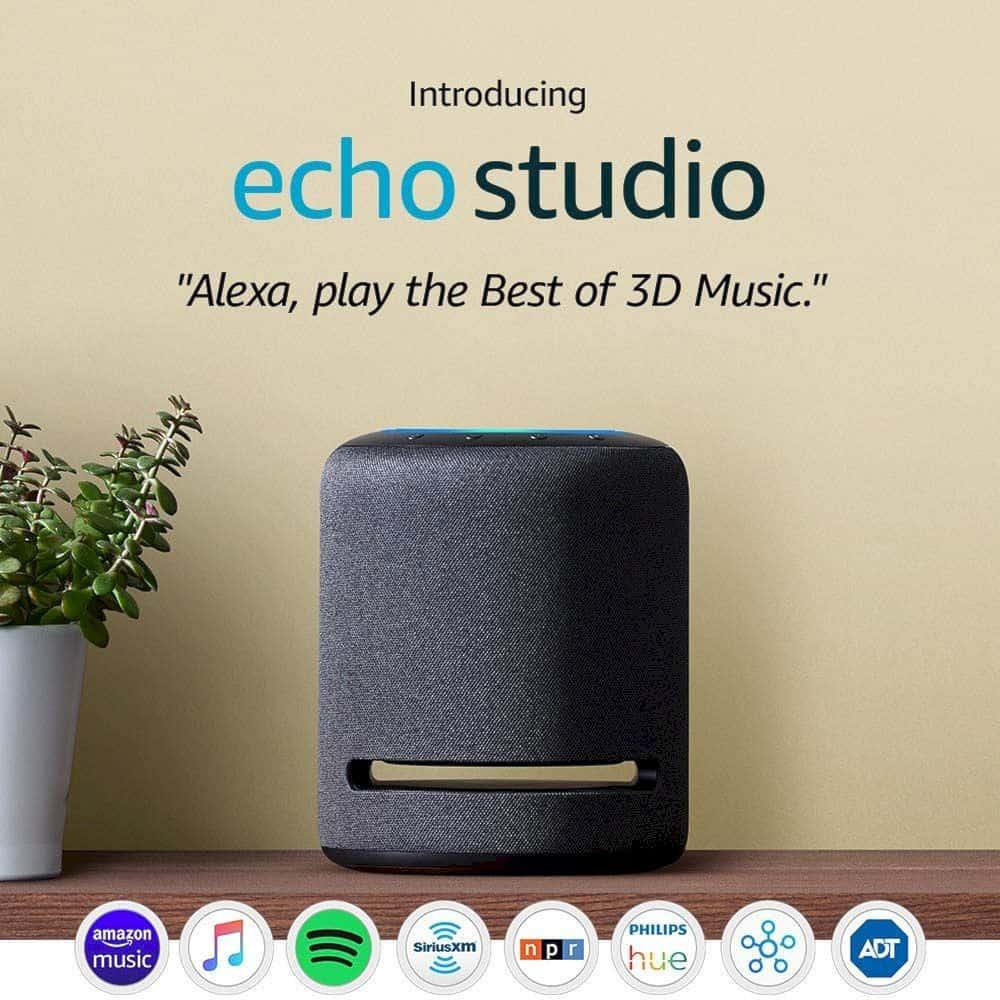 Amazon Echo Studio 10
