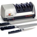 Chef's Choice Trizor XV Sharpener: Sharpen Both Fine Edge and Serrated Knives