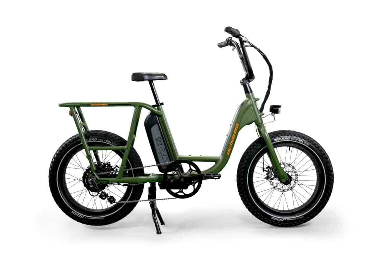 RadRunner Electric Utility Bike: Designed to be customized.