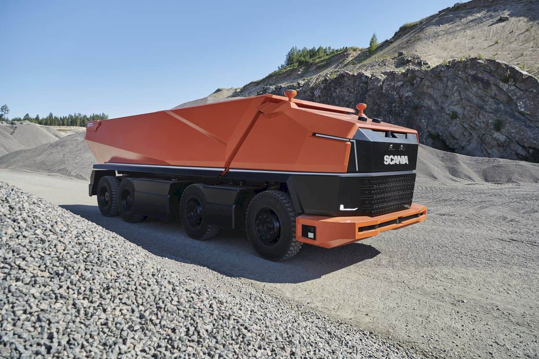 Scania AXL: A Cabless Autonomous Concept Truck