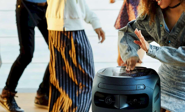 Sony V71 High Power Audio System 6