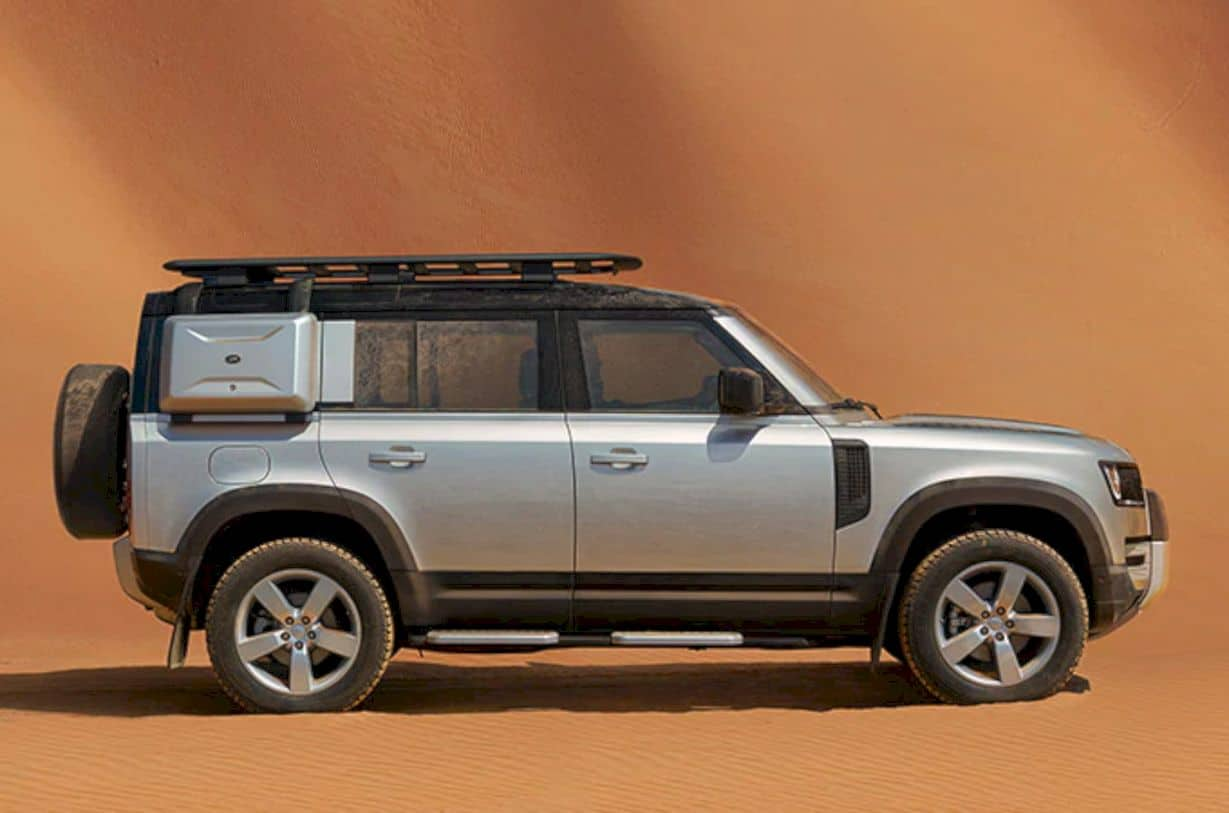 The New Land Rover Defender 7