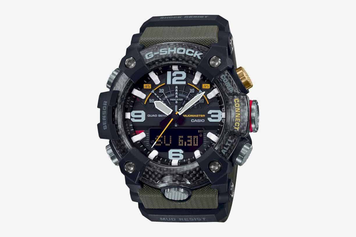 Casio G-Shock Mudmaster GG B-100: Designed for Harsh Land Environments