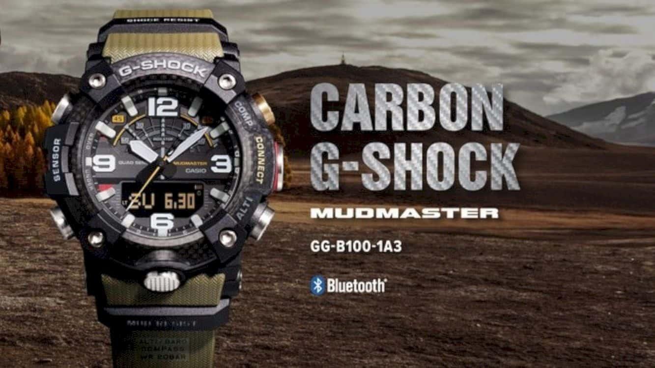 Casio G Shock Mudmaster Gg B 100 9