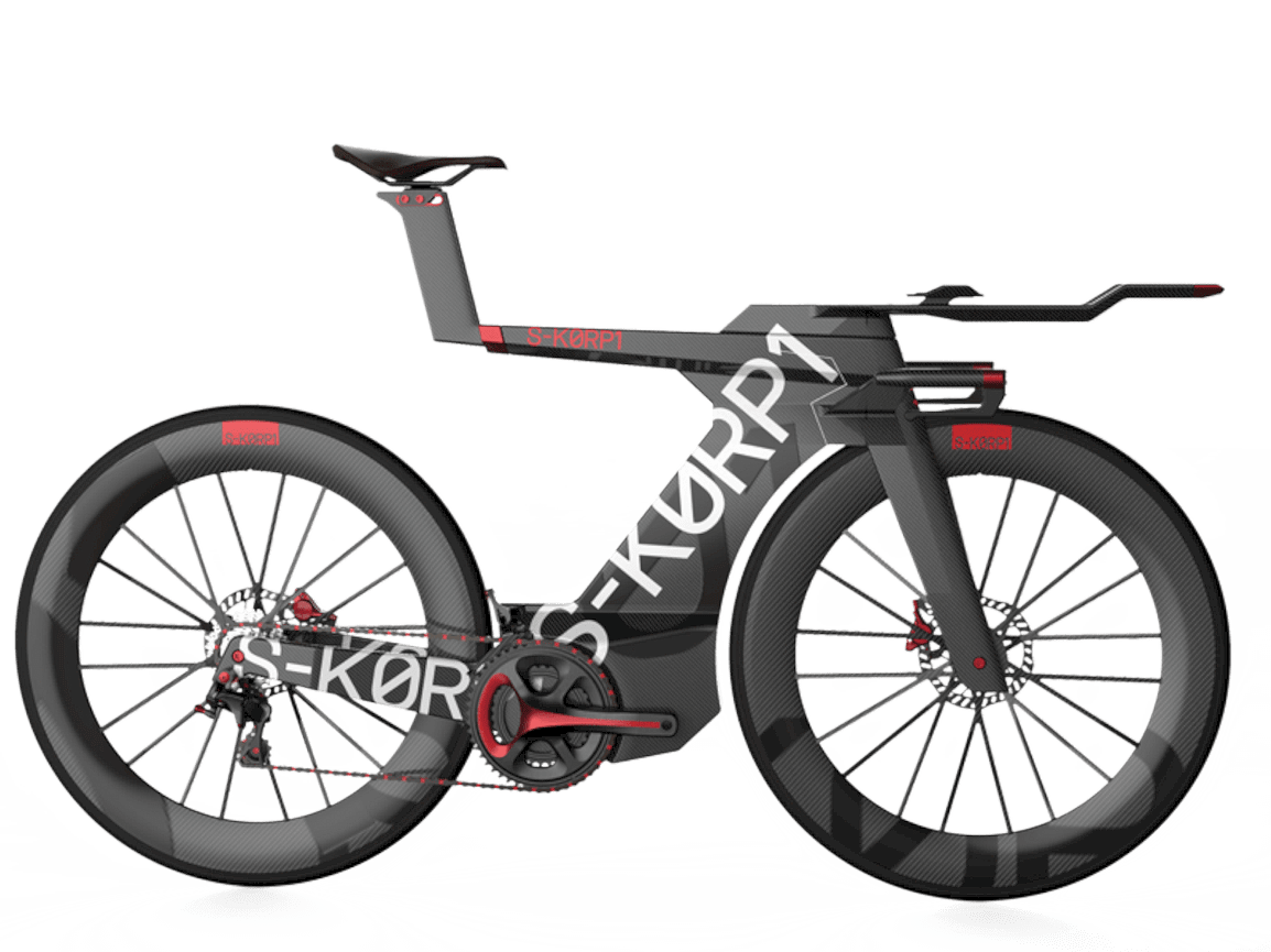 S-KØRP1: Redefining the Rules of Triathlon Bicycles